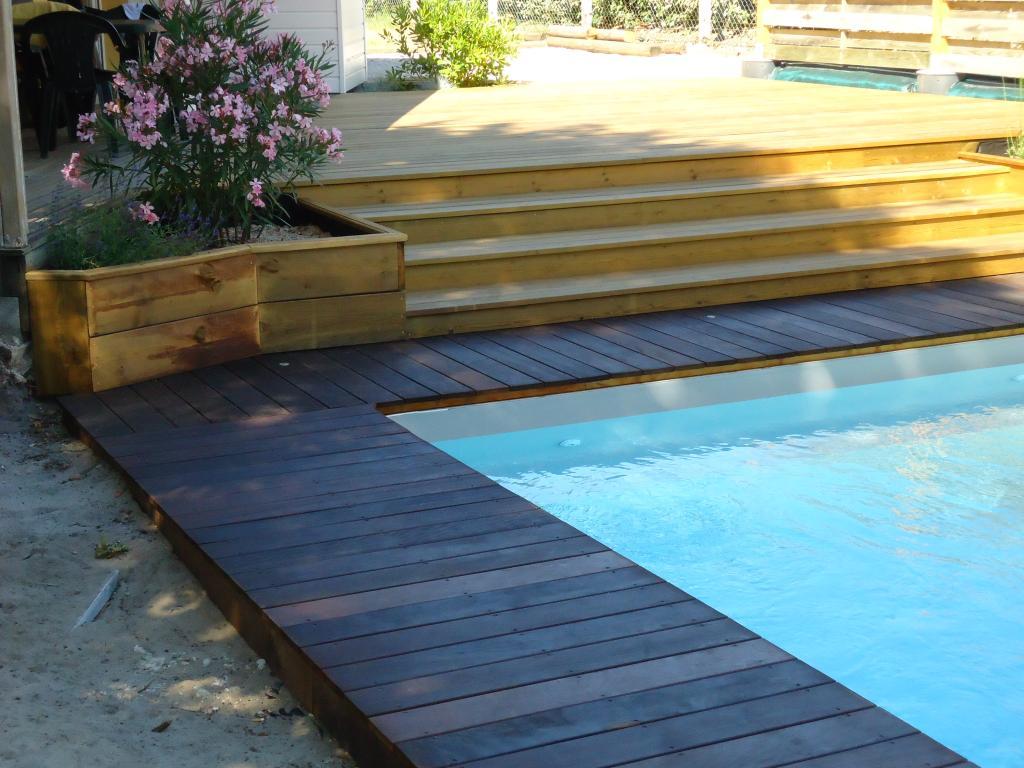 materiel pour terrasse en bois sur pilotis. Black Bedroom Furniture Sets. Home Design Ideas